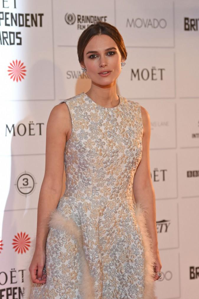 Keira Knightley le 7 décembre 2014