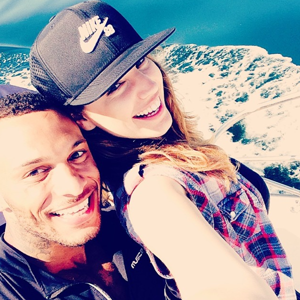 Photos : Kelly Brook : avec son David Mcintosh, elle vogue sur un océan d'amour !