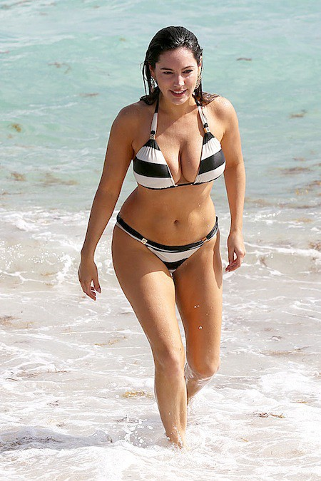 Kelly Brook le 3 février 2014