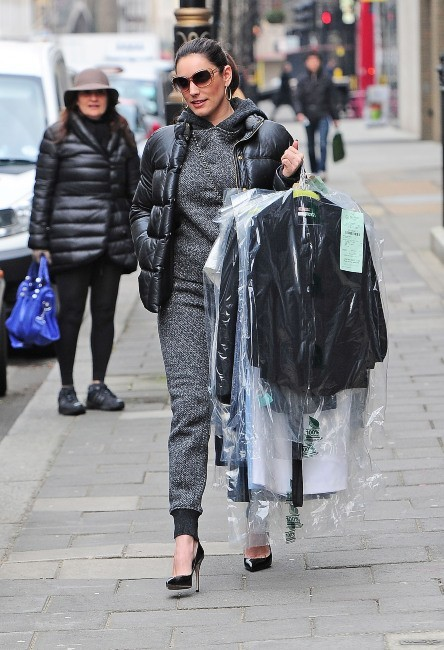 Kelly Brook le 27 mars 2013 à Londres