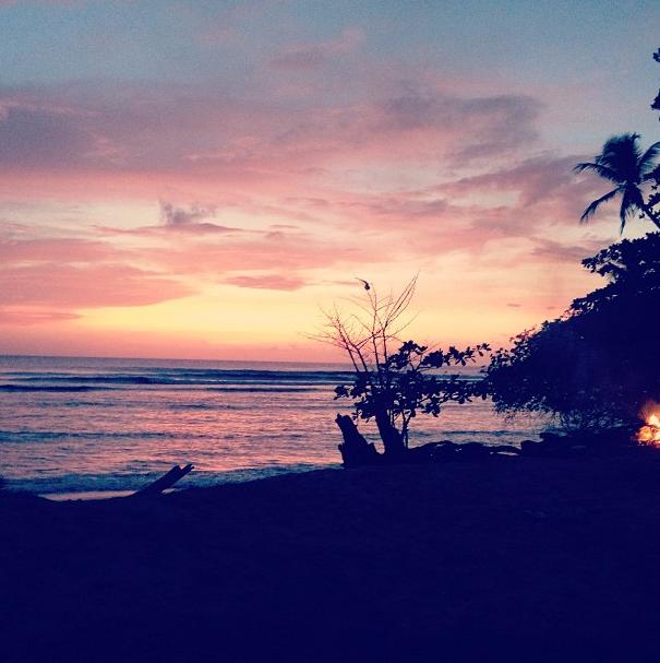 """""""Magnifique couché de soleil à Tobago"""""""