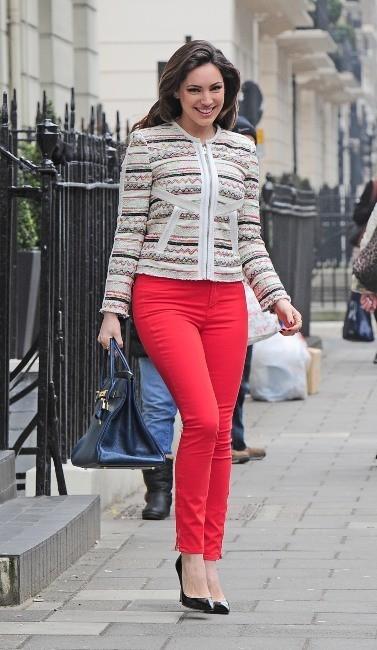 Kelly Brook, Londres, 20 mars 2013.