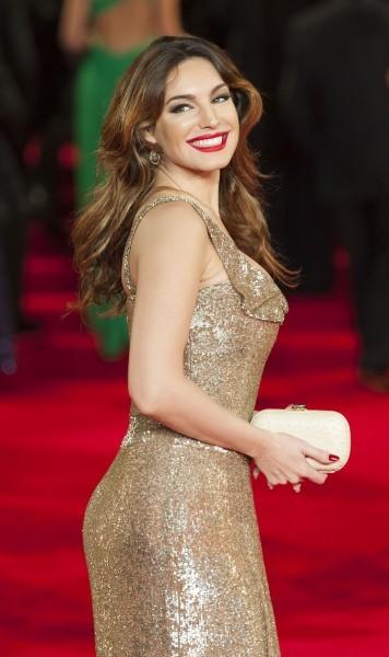 Kelly Brook lors de la première de Skyfall à Londres, le 23 octobre 2012.