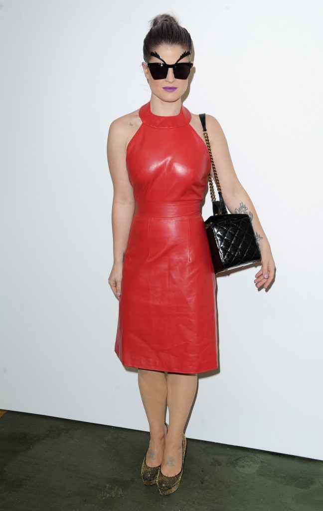 Kelly Osbourne, Londres, 15 septembre 2012.
