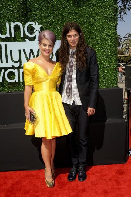 Kelly Osbourne et Matthew Mosshart lors de la soirée des Young Hollywood Awards à Los Angeles, le 1er août 2013.