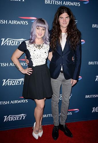 Kelly Osbourne et Matthew Mosshart à Los Angeles le 25 septembre 2013