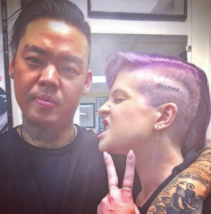 Kelly Osbourne : toujours plus délurée, elle s'offre un nouveau tatouage !
