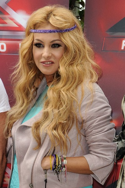 Paulina Rubio lors des nouvelles auditions de X-Factor à Los Angeles, le 11 juillet 2013.