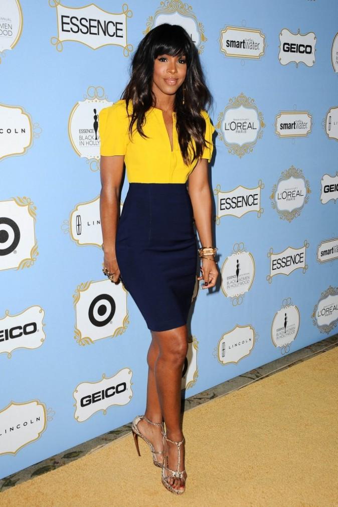 "Kelly Rowland lors de la soirée ""Essence Black Women in Hollywood Awards Luncheon"" à Los Angeles, le 21 février 2013."