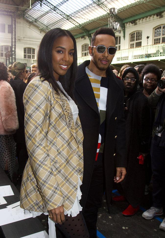 Kelly Rowland et Lewis Hamilton ont l'air de très bien s'entendre