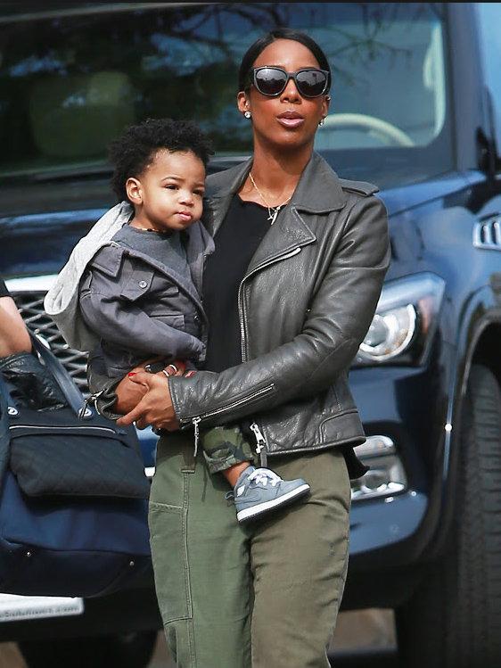 Kelly Rowland s'affiche avec son fils Titant à Los Angeles