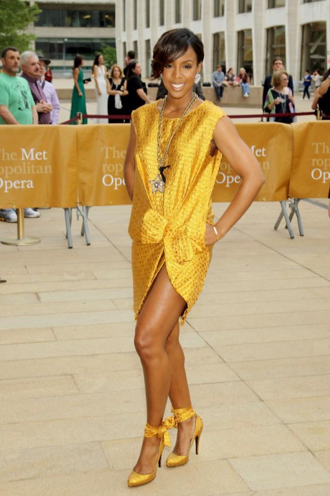 "Kelly Rowland lors de la soirée ""American Ballet Theatre Opening Night Spring Gala"" à New York, le 12 mai 2014."