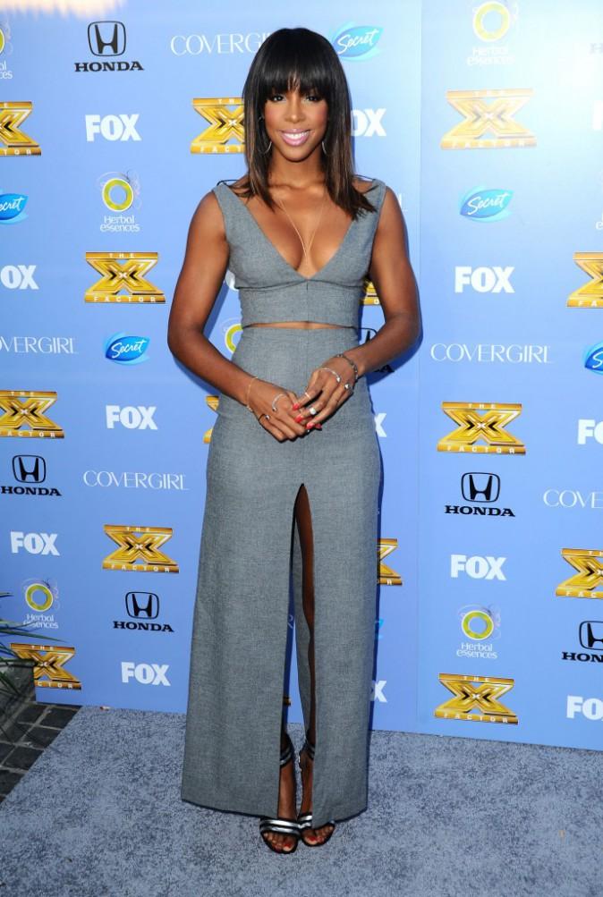 Kelly Rowland à la soirée X Factor à Los Angeles, le 5 septembre 2013