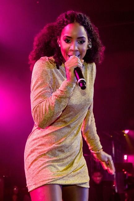 Kelly Rowland en concert à Las Vegas, le 29 décembre 2012.