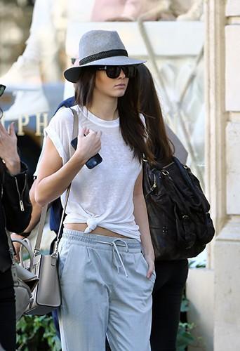 Kendall Jenner à Paris le 26 septembre 2014
