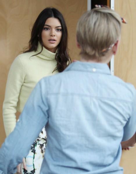 Kendall Jenner à Los Angeles, le 9 janvier 2014.