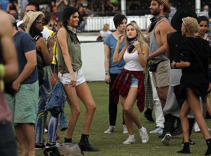 Kendall Jenner et sa bande à Indio le 18 avril 2014