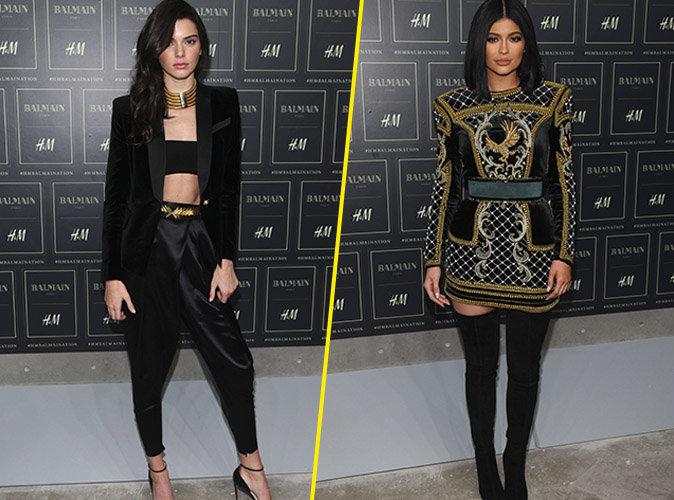 Kendall et Kylie Jenner le 20 octobre 2015