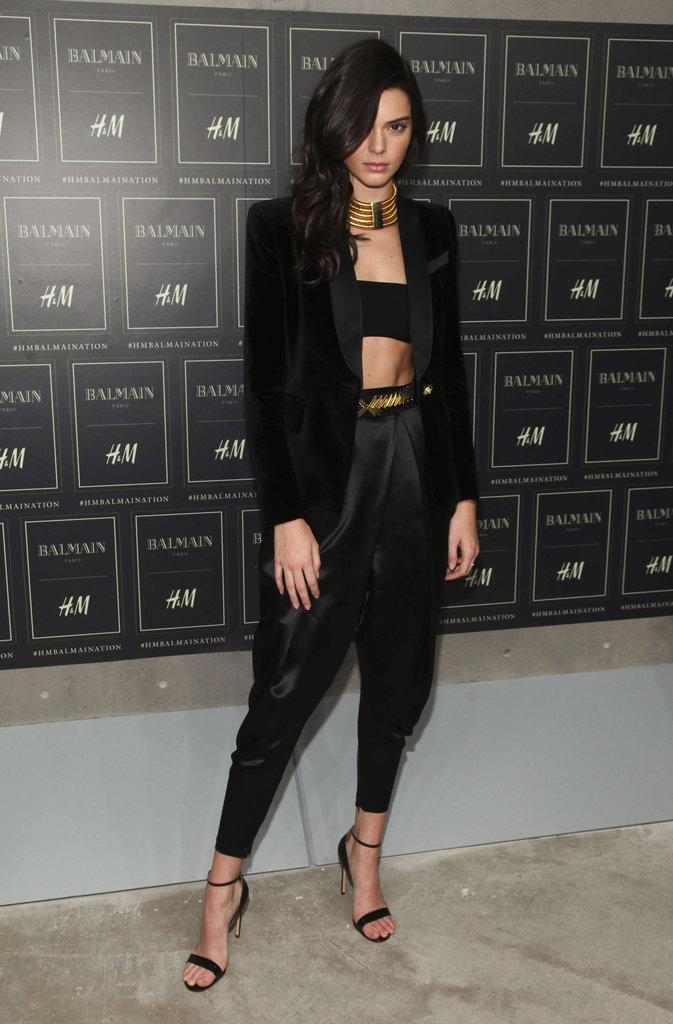 Kendall Jenner le 20 octobre 2015