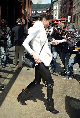 Kendall Jenner à New York le 6 mai 2014