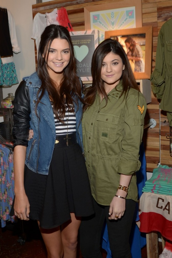 Kendall et Kylie Jenner, Garden City, 8 février 2013