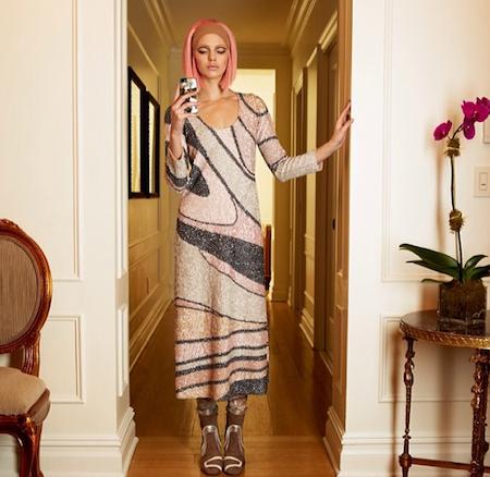 Kendall Jenner pour Vogue