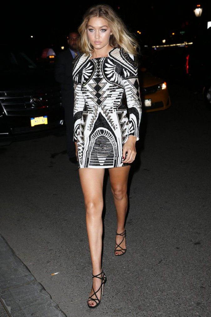 Gigi Hadid le 16 septembre 2015