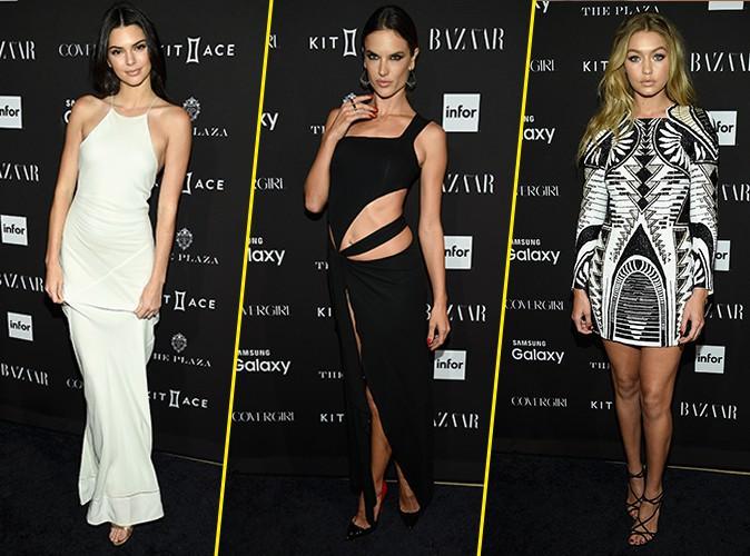 Kendall Jenner, Alessandra Ambrosio et Gigi Hadid le 16 septembre 2015