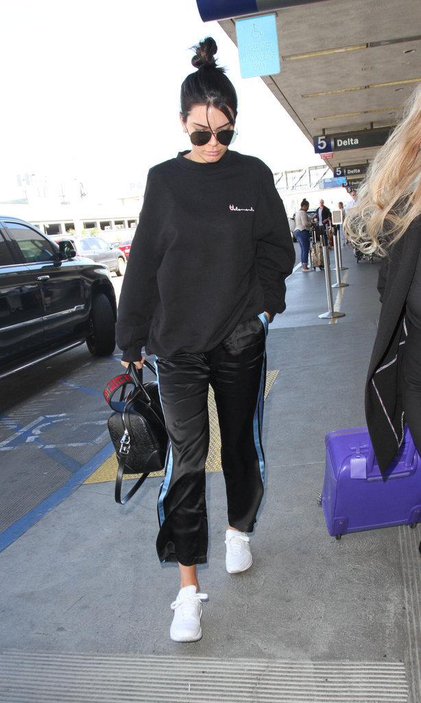 Kendall Jenner, lookée en toutes circonstances