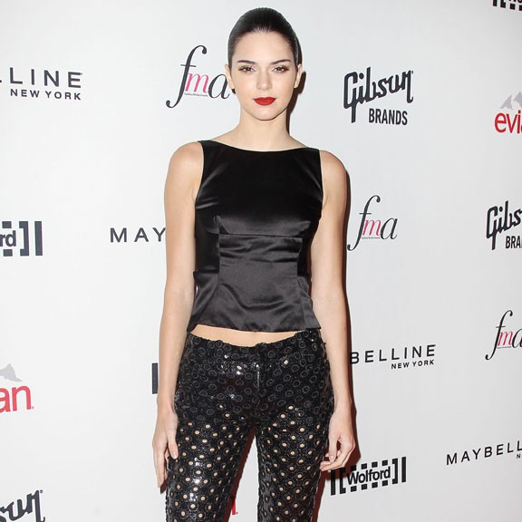 Kendall Jenner aux Daily Front Row's Fashion Media Awards organisés à New-York le 5 septembre 2014
