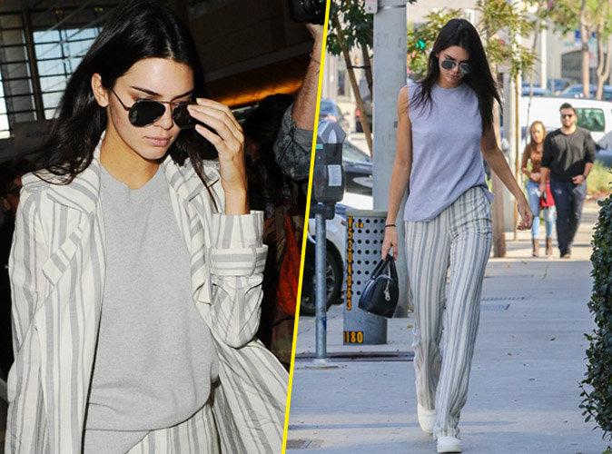 Photos : Kendall Jenner boudeuse après sa brouille avec Farrah Abraham