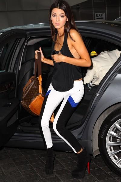 Kendall Jenner, Sidney, 1er novembre 2012.