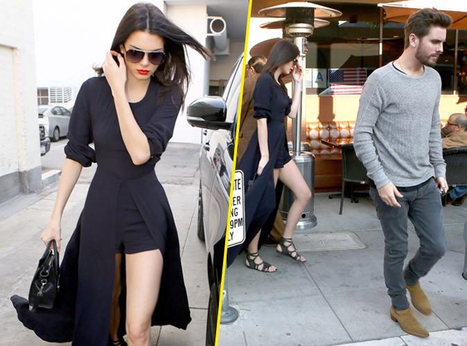 Kendall Jenner et Scott Disick le 21 janvier 2015