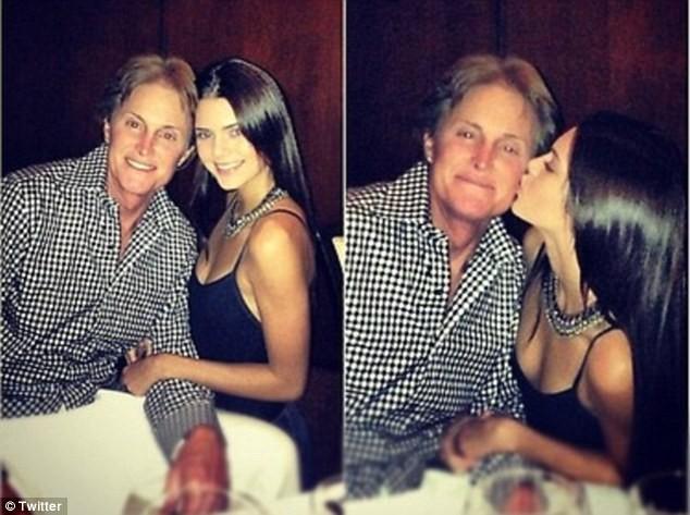 Kendall et Bruce Jenner au restaurant pour fêter son anniversaire !