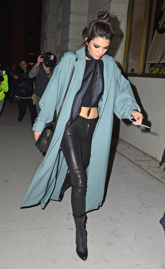Kendall Jenner dans les rues de New York