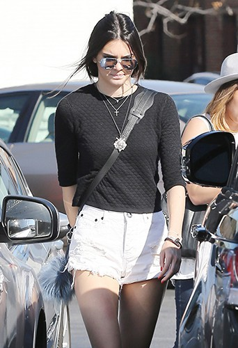 Kendall Jenner à Los Angeles le 6 avril 2014