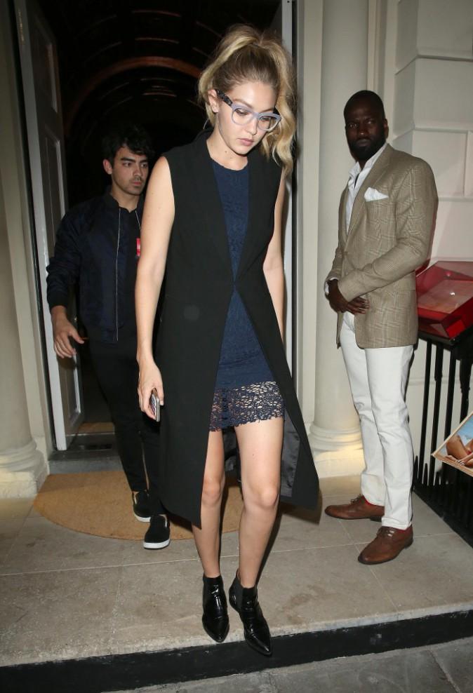 Gigi Hadid et Joe Jonas le 2 juillet 2015