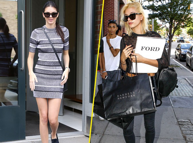 Photos : Kendall Jenner et Hailey Baldwin : inséparables pour enchainer castings et shopping avant les Fashion Week !