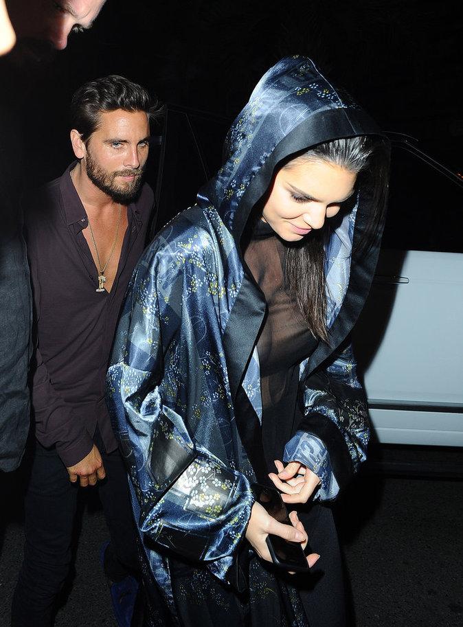 Kendall Jenner et Scott Disick à Cannes