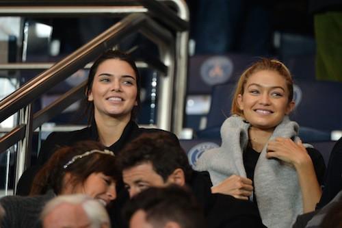 Photos : Kendall Jenner, Gigi Hadid et Rihanna : supportrices chocs à Paris !