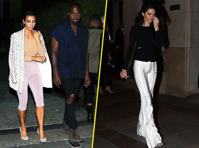 Photos: Kim Kardashian, Kendall Jenner, Gigi Hadid, Rosie Huntington-Whiteley... toutes à l'after-party Balmain et Public y était!