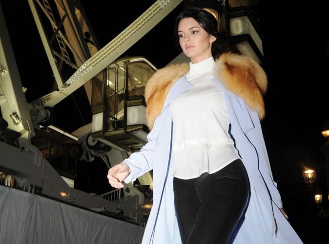 Kendall Jenner : grande roue, dîner au caviar, c'est la belle vie à Paris !