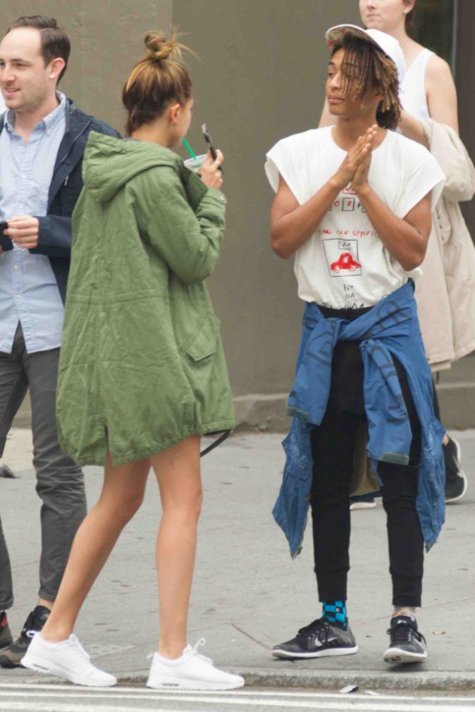 Kendall Jenner, Hailey Baldwin et Jaden Smith : le trio de choc est à New York !