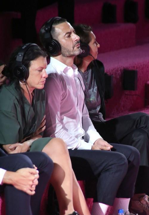 Marc Jacobs lors de son défilé  le 11 septembre 2010, à New York