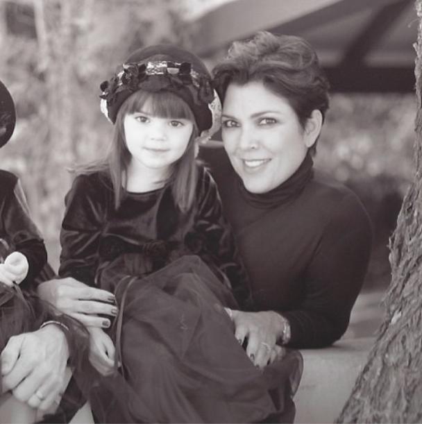 Kendall avec sa mère Kris Jenner