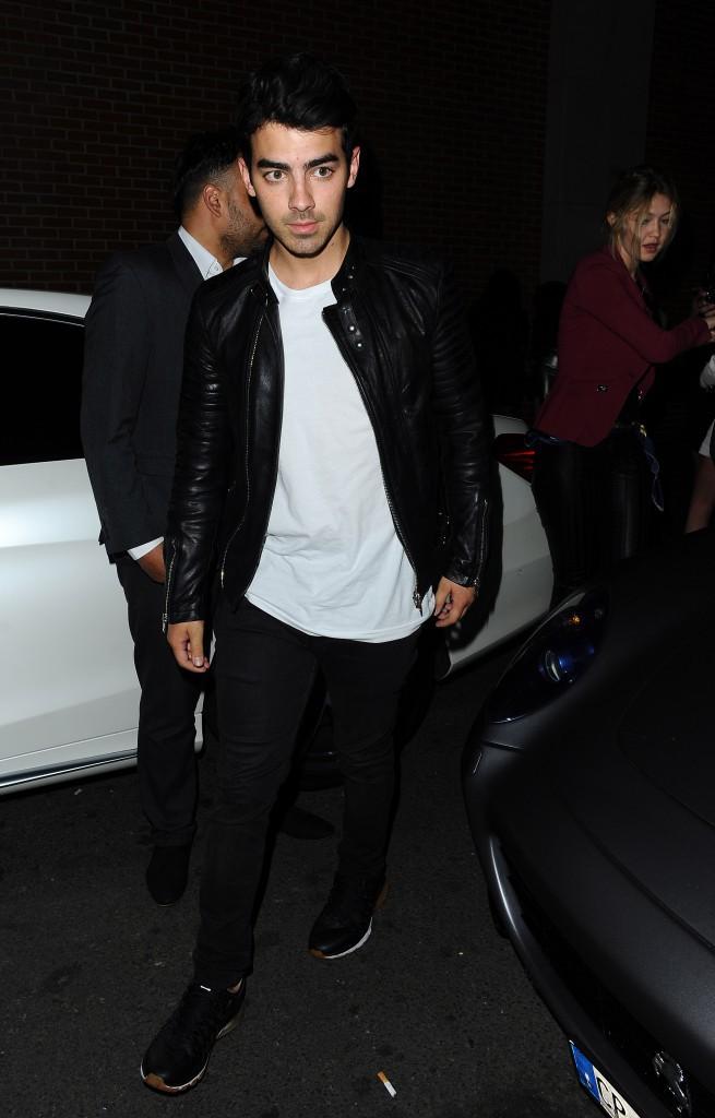 Gigi Hadid et Joe Jonas le 28 juin 2015