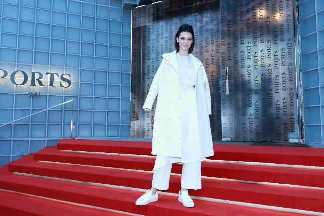 Kendall Jenner à Shanghai le 13 octobre 2015