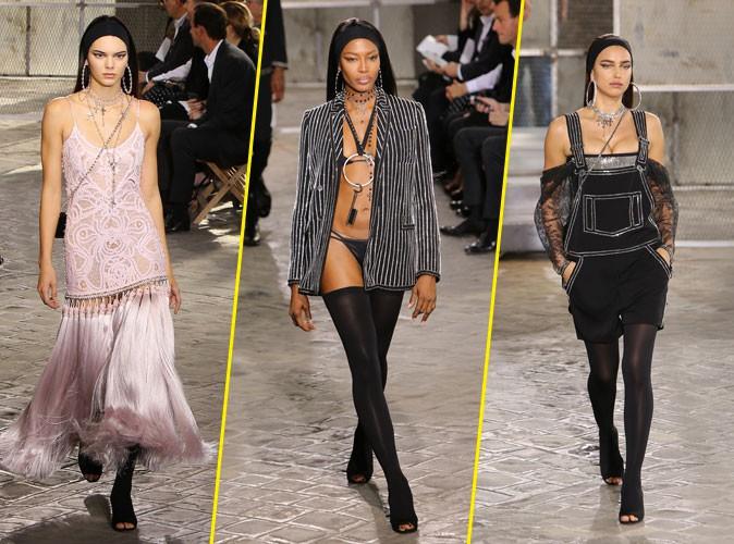 Photos : Kendall Jenner, Naomi Campbell, Irina Shayk… Elles envahissent la Fashion Week Homme !