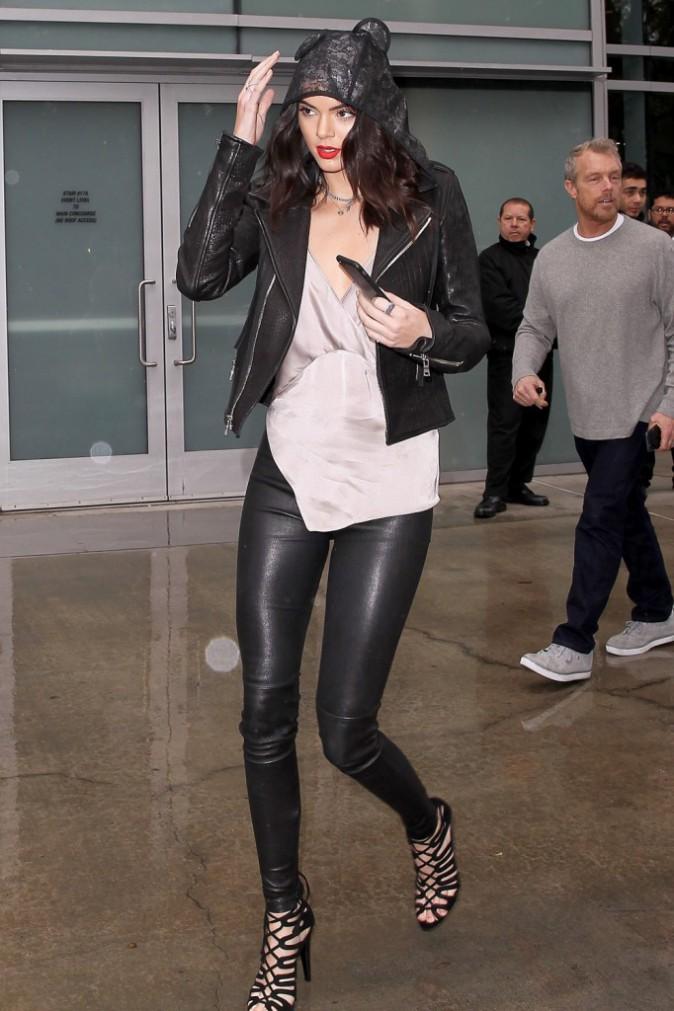 Kendall Jenner le 10 janvier 2015