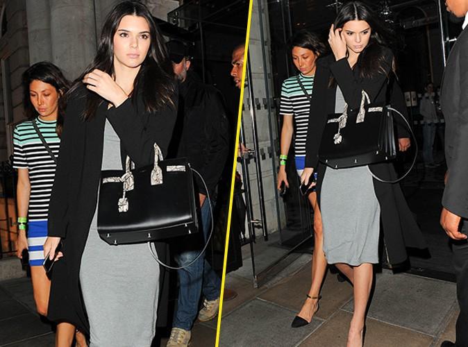 Kendall Jenner trop diva ? Elle a un assistant parapluie !